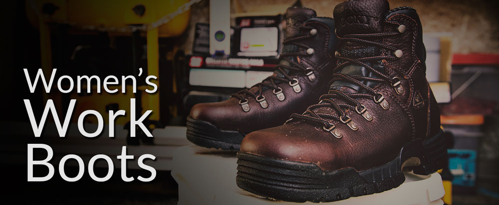 Women's Work Boots and Steel Toe Safety Shoes